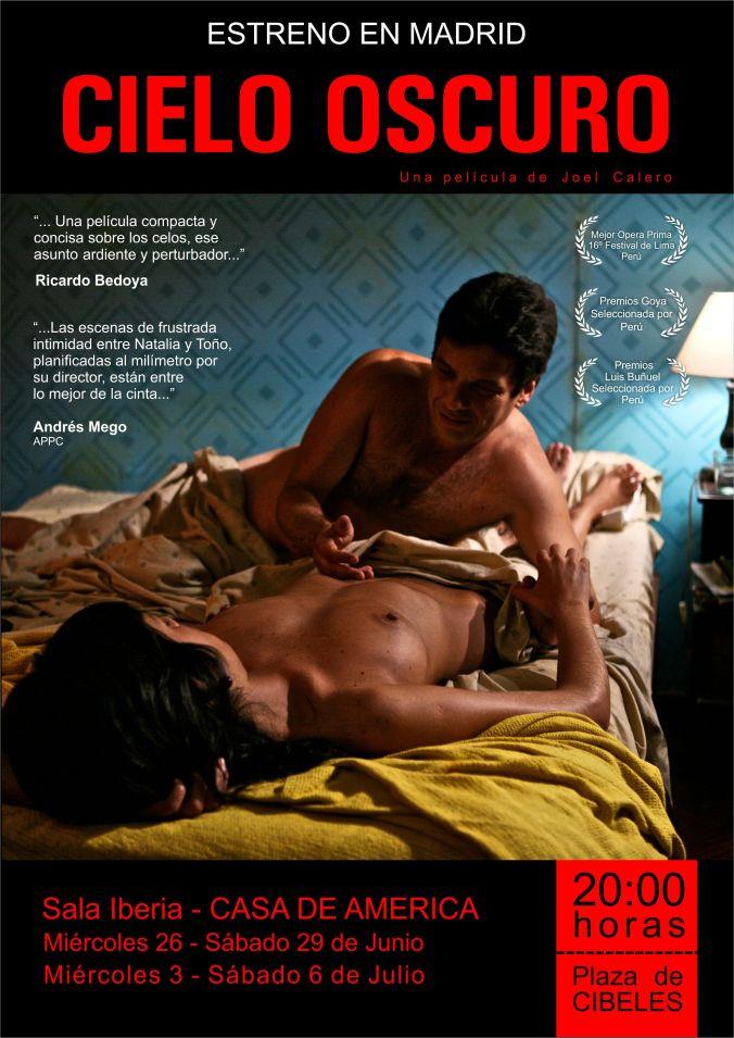 Afiche CIELO OSCURO madrid-1
