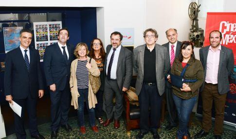 Santiago Miralles, Xosé Luis Canido, Mercedes Ortiz de Solórzano, Elena Vilardell, Juan José Martín, Gerardo Herrero, Rafael Sánchez, Pilar Torre y Jorge Peralta. unnamed